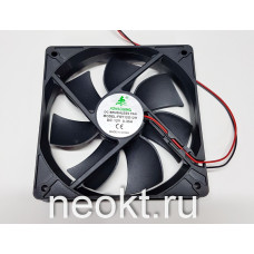 Вентилятор 120x120x25-12VDC втулка (SLEEVE)