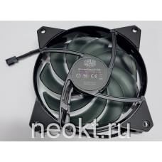 Вентилятор 120x120x25-12VDC шарик (BALL) 4 провода