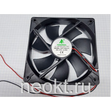 Вентилятор 120x120x25-24VDC шарик (BALL)