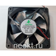 Вентилятор 120x120x25-48VDC шарик (BALL)