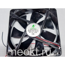 Вентилятор 140x140x25-12VDC шарик (BALL)