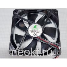 Вентилятор 140x140x25-12VDC втулка (SLEEVE)