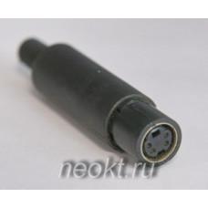 MDN-4 F розетка на кабель